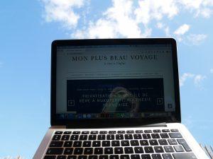 Je rédige des articles voyage pour Mon Plus Beau Voyage.