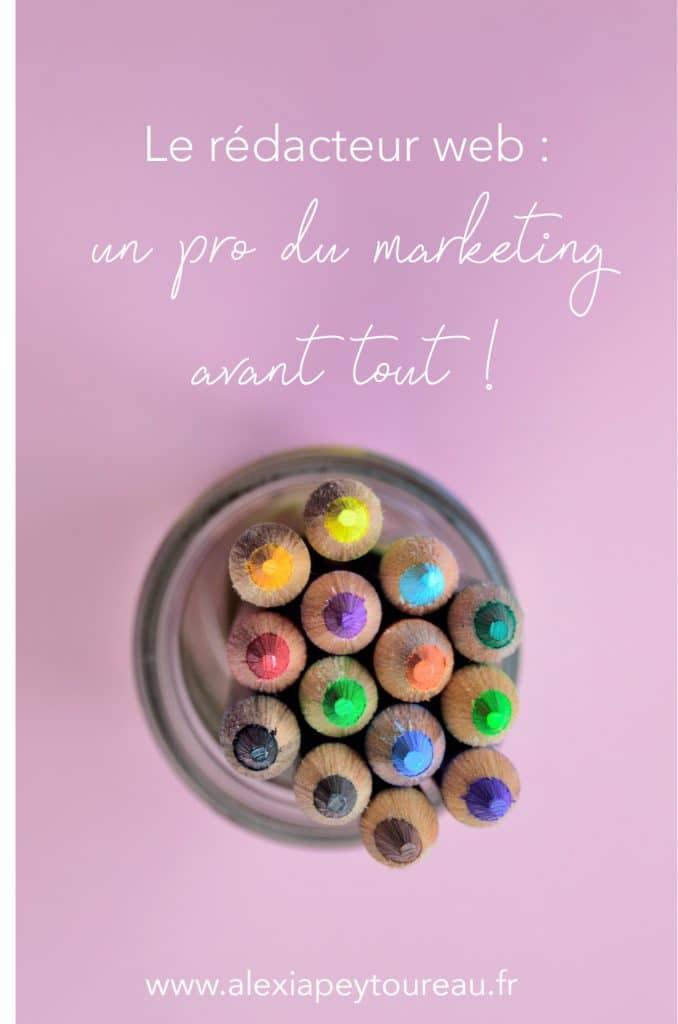 Un rédacteur web pro est avant tout un professionnel du marketing !